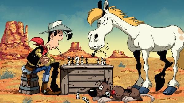 لوک خوش شانس - دانلود انیمیشن زیبای سریالی لوک خوش شانس با لینک مستقیم و همچنین به صورت مجانی و رایگان
