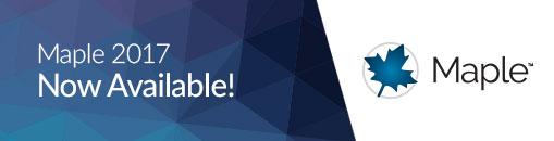 Maplesoft Maple 2017.2 نرم افزار محاسبه و حل مسائل ریاضی. دریافت از ایرانیان دانلود