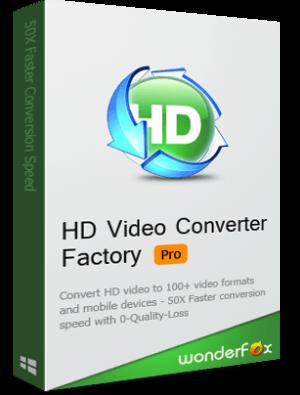 WonderFox HD Video Converter Factory Pro 16.0 نرم افزار تبدیل ویدئوهای HD