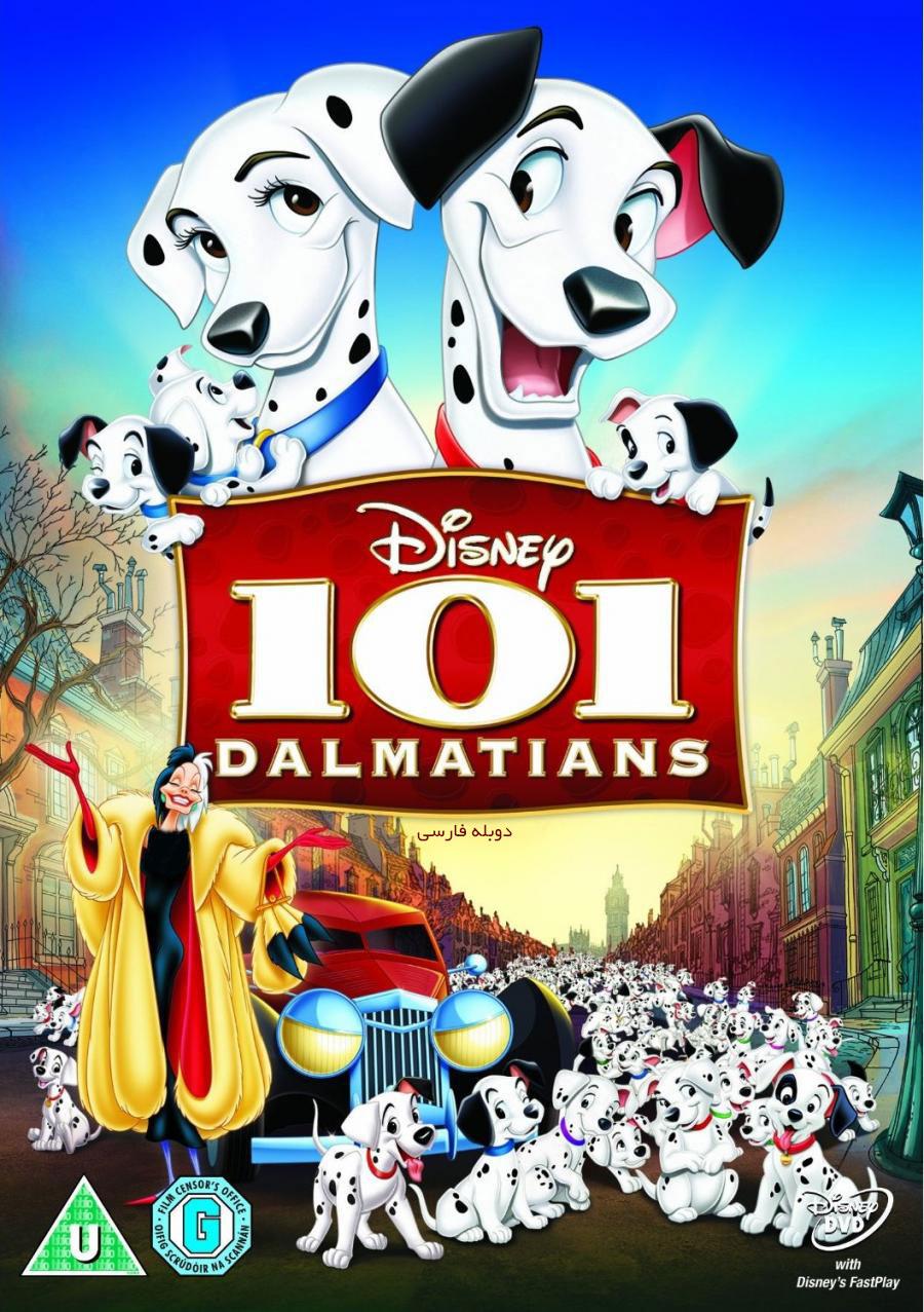 دانلود انیمیشن زیبای 101 سگ خالدار 101 Dalmatians دوبله فارسی با لینک مستقیم