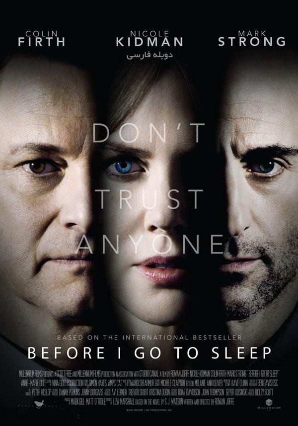 دانلود فیلم قبل از اینکه بخوابم -دانلود فیلم قبل از اینکه بخوابم دوبله فارسی با لینک مستقیم
