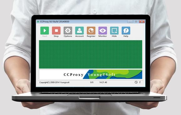 CCProxy 8.0 Build 20171115 نرم افزار اشتراک گذاری پهنای باند در شبکه