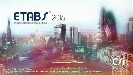 CSI ETABS 2016 16.2.0 دانلود نرم افزار طراحی و تحلیل سازه. دانلود ETABS 2016