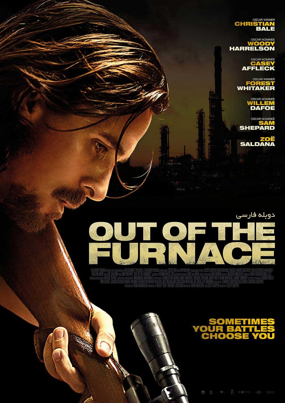 دانلود فیلم Out of the Furnace انتقام سخت - دانلود فیلم Out of the Furnace انتقام سخت