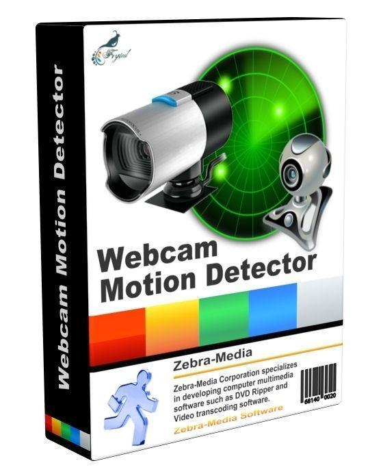 Zebra Webcam Motion Detector 2.4 نرم افزار تشخیص حرکت تصویر در وبکم