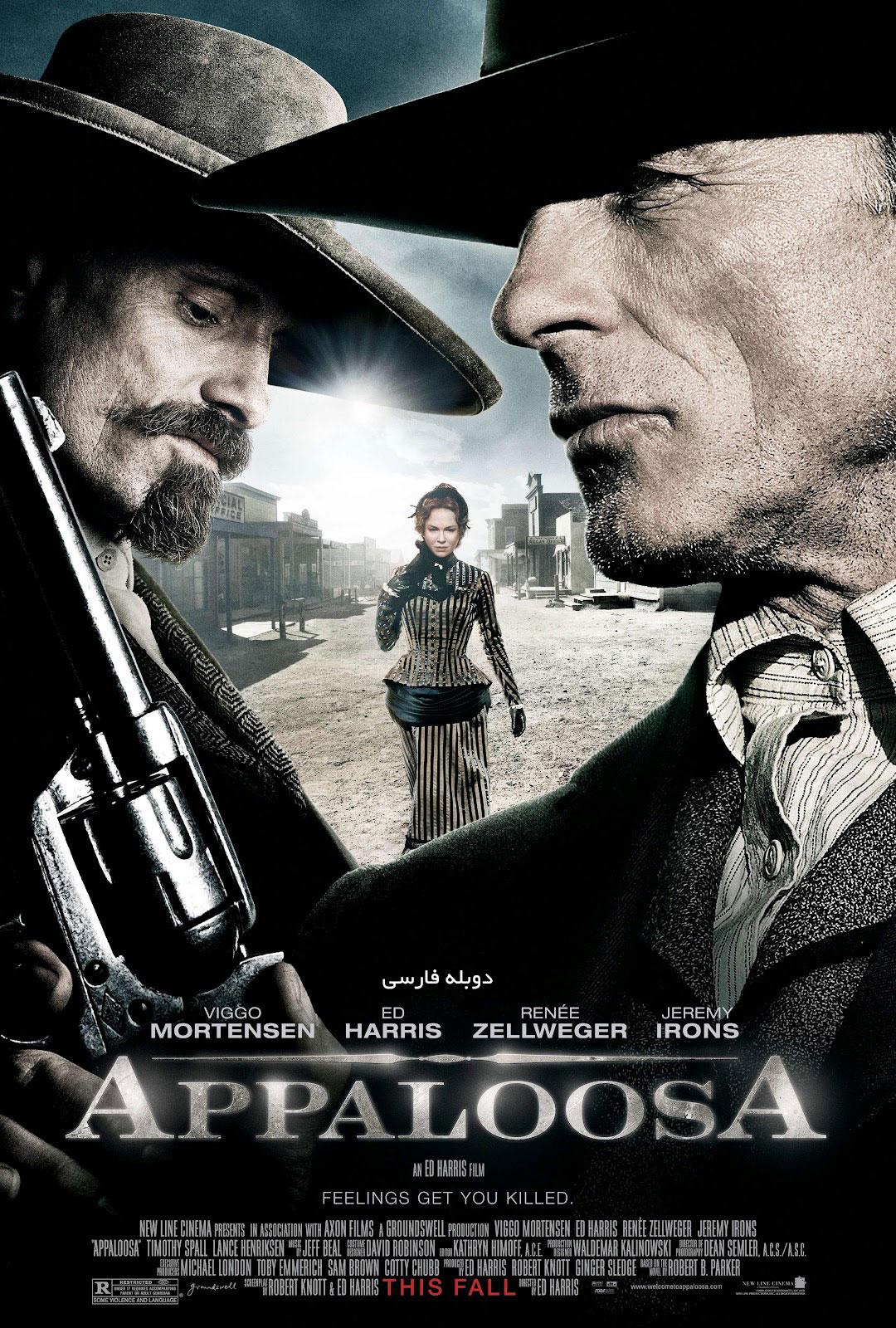 دانلود فیلم آپالوسا Appaloosa - دانلود فیلم آپالوسا Appaloosa دوبله فارسی