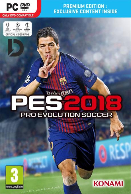 دانلود بازی PES18 با لینک مستقیم بهمراه کرک معتبر CPY برای PC