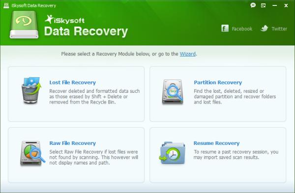 iSkysoft Data Recovery 3.0.0.12 نرم افزار بازیابی اطلاعات ویندوز