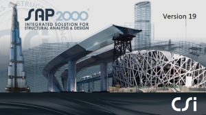 CSI SAP2000 Ultimate 19.2 دانلود نرم افزار طراحی سازه ها . دانلود SAP2000