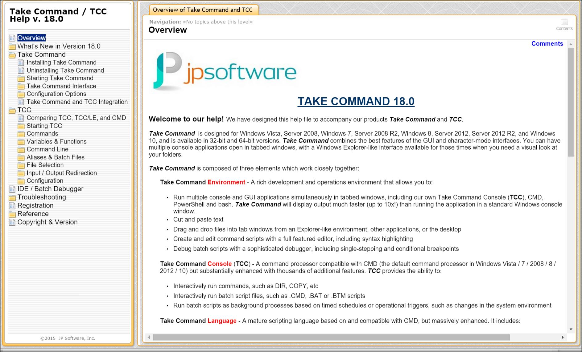 Resultado de imagen de JP Software Take Command 21
