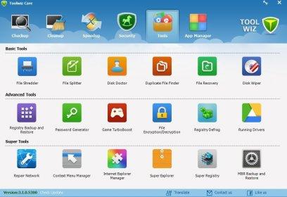 Toolwiz Care 4.0.0.1200 دانلود نرم افزار کاربردی پاکسازی کامل ویندوز و بهینه سازی