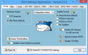 ADVANCED Codecs 8.3.0 دانلود نرم افزار کدک صوتی و تصویری برای ویندوز