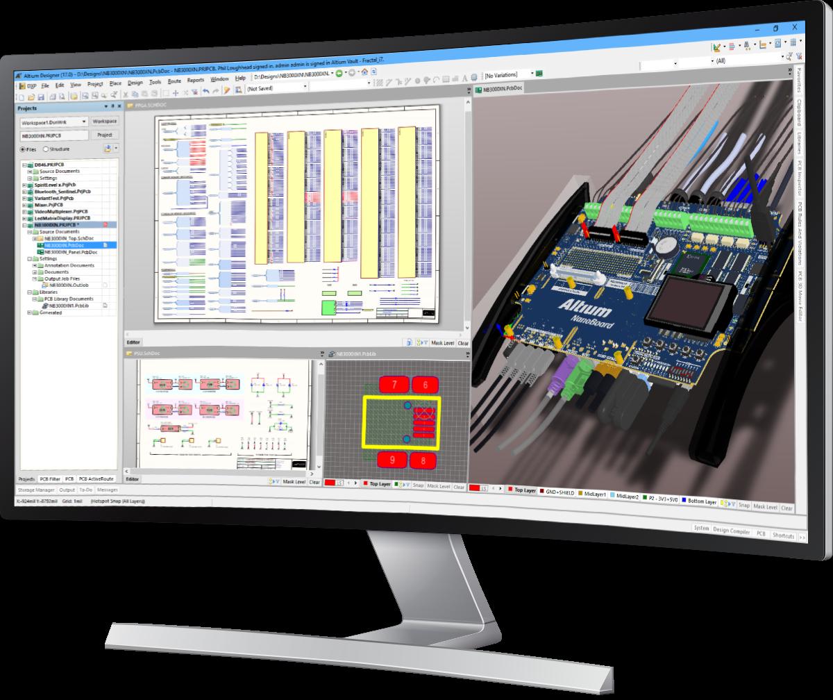 Altium Designer 17.1.6 Build 538 دانلود نرم افزار طراحی مدار های PCB