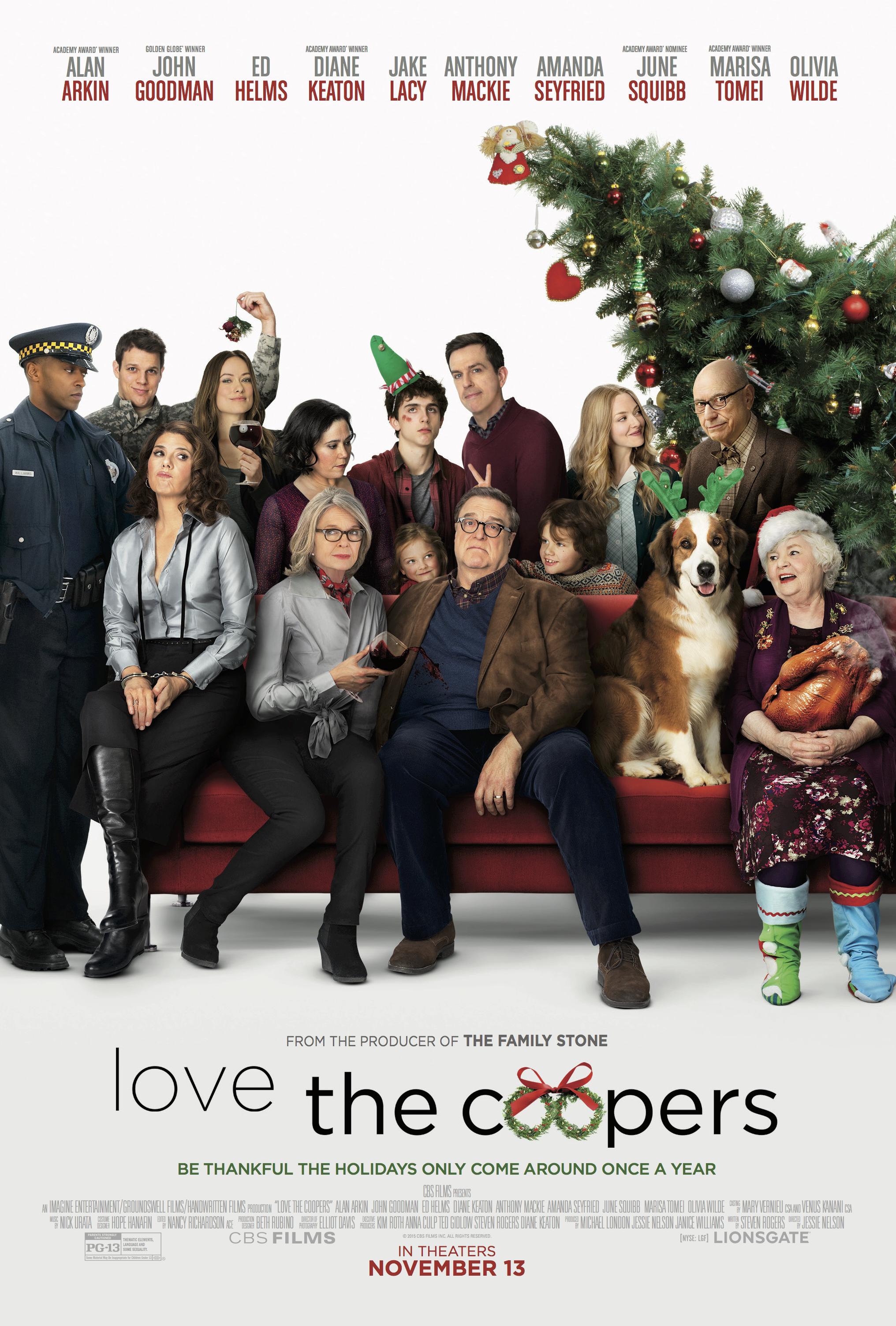دانلود فیلم عشق در خانواده کوپر Love the Coopers دوبله فارسی