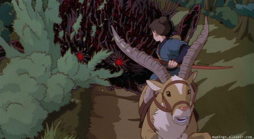 دانلود انیمیشن شاهزاده مونونوکه Princess Mononoke دوبله فارسی