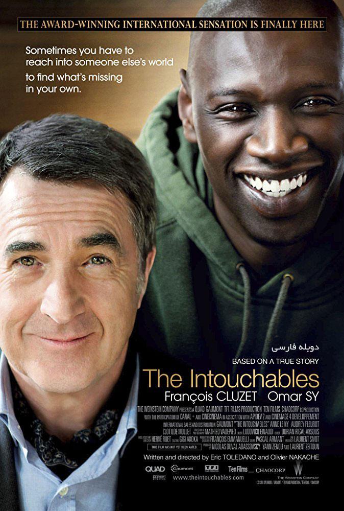 دانلود فیلم دست نیافتنی ها The Intouchables دوبله فارسی با لینک مستقیم