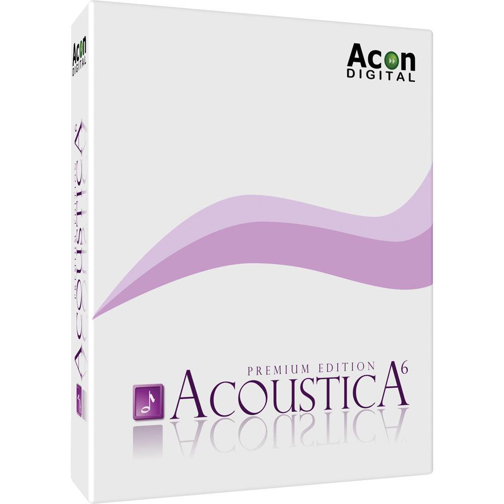Acon Digital Media Acoustica Premium 6.0 Build 19 نرم افزار ویرایش موسیقی