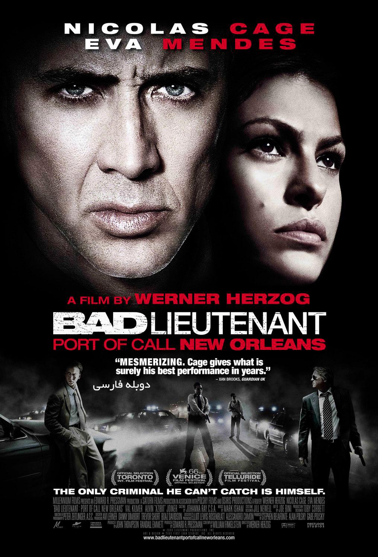 دانلود فیلم The Bad Lieutenant Port of Call New Orleans دوبله فارسی