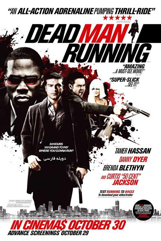 دانلود فیلم هشدار خونین Dead Man Running دوبله فارسی با لینک مستقیم