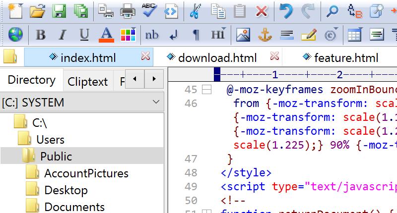 ES-Computing EditPlus 5.0.733 نرم افزار ویرایش حرفه ای متن