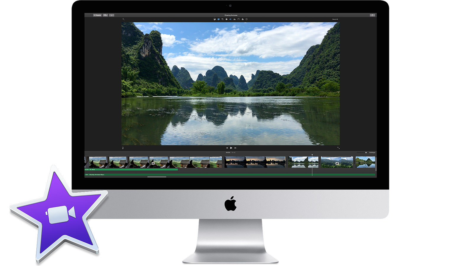 Apple iMovie 10.1.6 دانلود نرم افزار ویرایش حرفه ای فیلم برای مک
