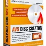 AVS Disc Creator 6.0.2.547 نرم افزار حرفه ای ساخت و راین انواع CD و DVD