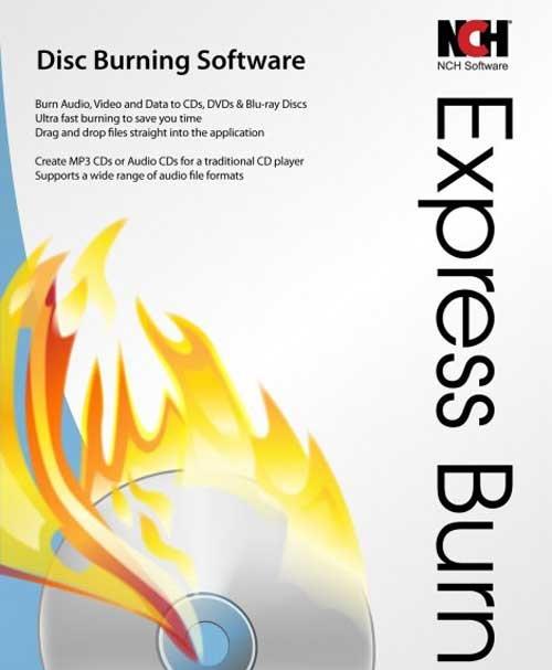 Express Burn Plus 6.02 نرم افزار رایت آسان دیسک های CD و DVD