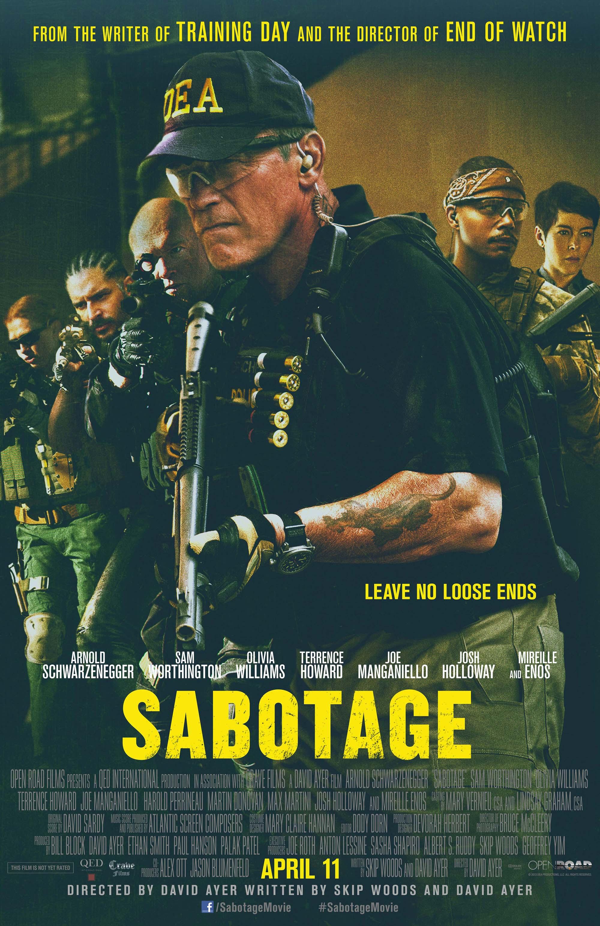 دانلود فیلم خرابکاری Sabotage - دانلود فیلم خرابکاری Sabotage دوبله فارسی
