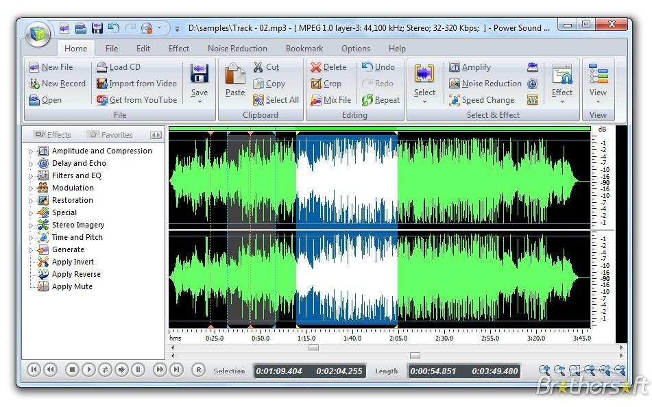 NCH WavePad Audio Editor Masters 6.64 نرم افزار ویرایش حرفه ای فایل های صوتی