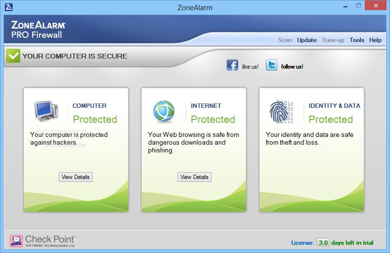 ZoneAlarm Free Firewall 15.1.504.17269 نرم افزار فایروال قدرتمند ویندوز