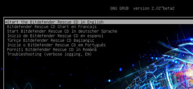 BitDefender Rescue CD 2017.01.27 دیسک نجات قدرتمند بیت دیفندر