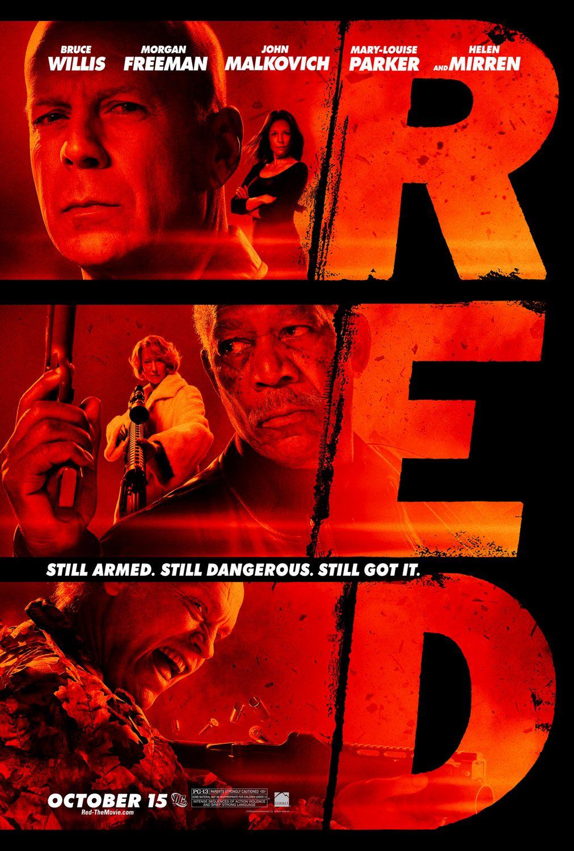 دانلود فیلم سرخ Red - دانلود فیلم سرخ Red دوبله فارسی با لینک مستقیم