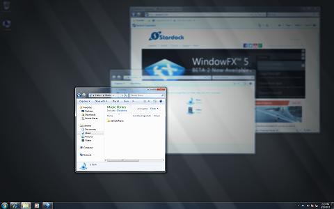 Stardock WindowFX 6.03 نرم افزار زیبا سازی محیط ویندوز