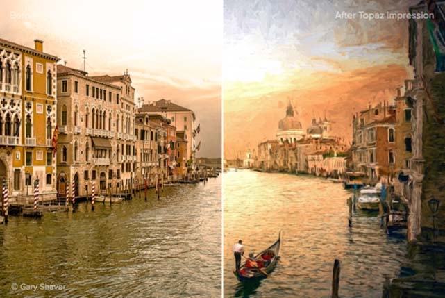 Topaz Impression 2.0.5 پلاگین تبدیل عکس به نقاشی در فتوشاپ