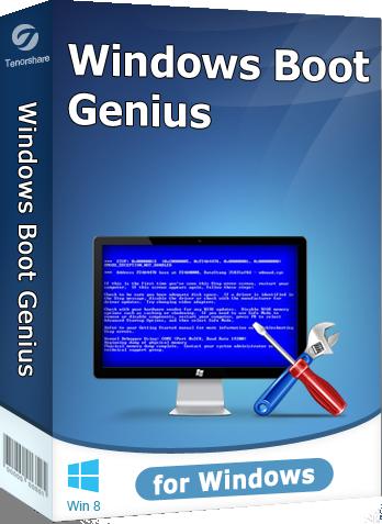 Tenorshare Windows Boot Genius 3.1.0.0 نرم افزار رفع ایرادات بود ویندوز