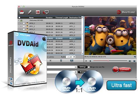 Pavtube DVDAid 4.9.0.0 نرم افزار مبدل ویدئو های DVD. دانلود Pavtube DVDAid
