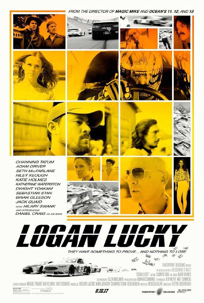 دانلود فیلم Logan Lucky لوگان خوش شانس دوبله فارسی لینک مستقیم