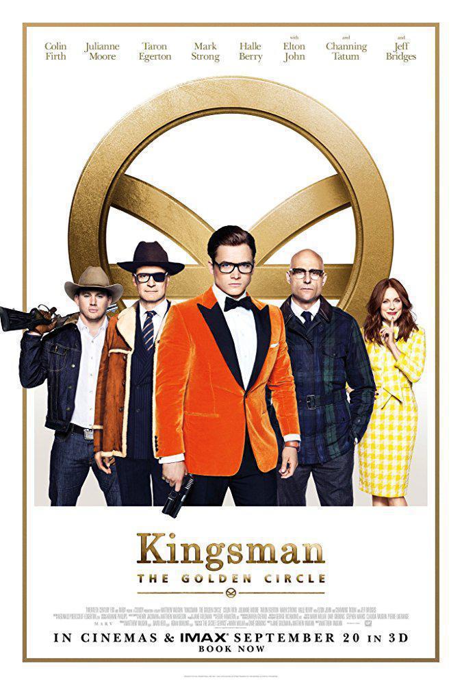 دانلود فیلم کینگزمن: محفل طلایی Kingsman: The Golden Circle دوبله فارسی