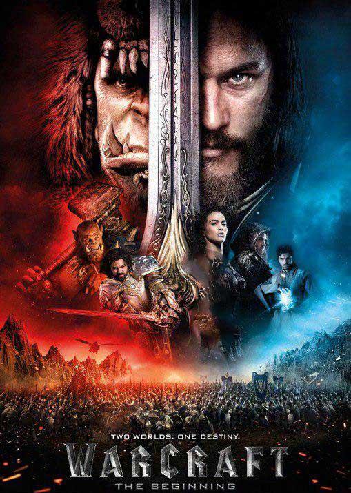 دانلود فیلم وارکرفت Warcraft دوبله فارسی فیلم سینمایی خارجی Warcraft 2017