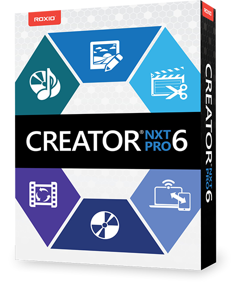 Corel Roxio Creator NXT Pro 6 19.0.55.0 رایت، کپی و پشتیبان گیری از دیسک