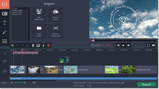 Movavi Video Editor 14.1.1 ویرایشگر ساده و حرفه ای ویدیوها . ایرانیان دانلود