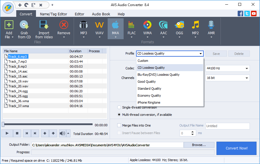 AVS Audio Converter 8.4.4.581 دانلود نرم افزار تبدیل فرمت فایل های صوتی