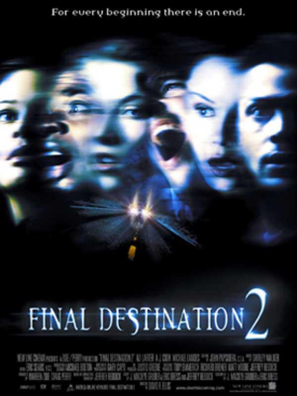 دانلود فیلم مقصد نهایی ۲ Final Destination 2003 دوبله فارسی
