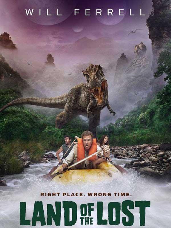 دانلود فیلم سرزمین گمشده Land of the Lost دوبله فارسی Land of the Lost 2009