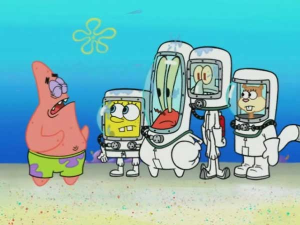 دانلود انیمیشن زیبای باب اسفنجی - گریز و فرار از مدرسه SpongeBob SquarePants دوبله فارسی