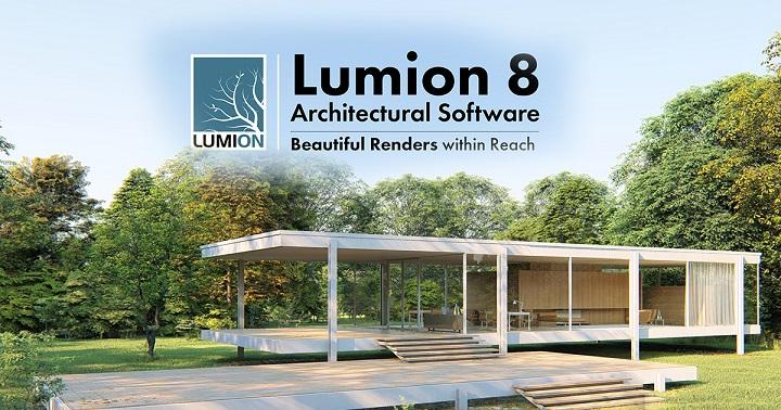 Lumion Pro 8.0 HF01 نرم افزار شبیه سازی سه بعدی محیط و بنا های مختلف