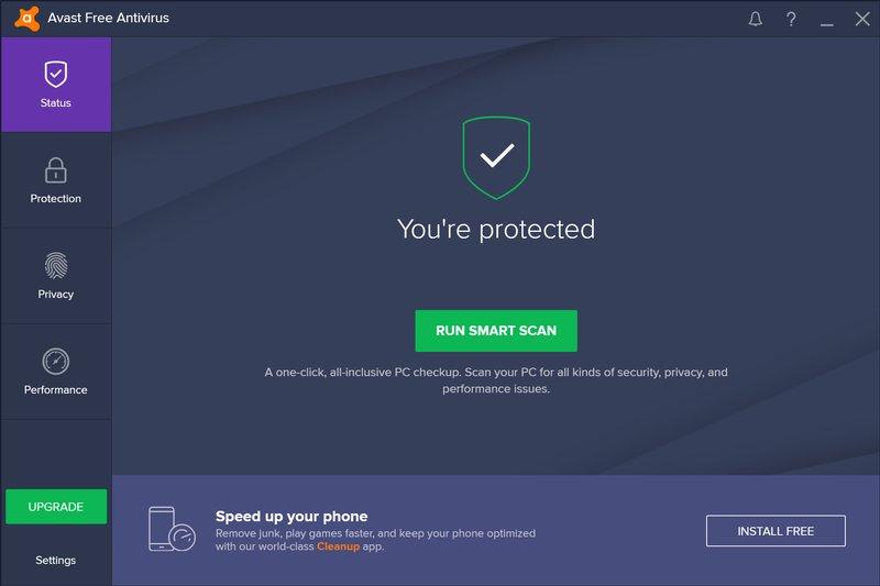 Avast Antivirus Free 17.9.2322 دانلود آنتی ویروس رایگان آواست