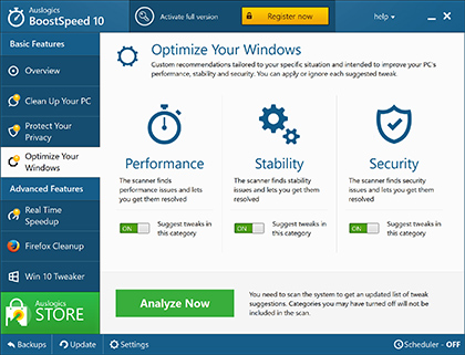 AusLogics BoostSpeed 10.0.1.0 دانلود نرم افزار افزایش سرعت کامپیوتر