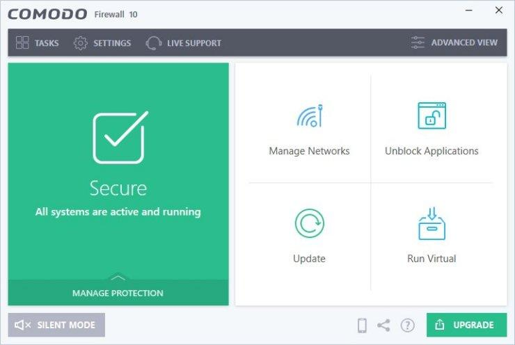 Comodo Firewall 10.1.0.6476 دانلود نرم افزار فایروال قدرتمند رایگان