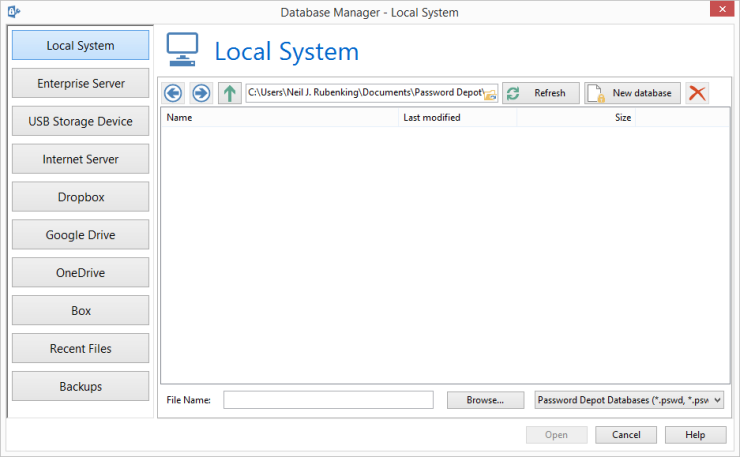 Password Depot Professional 11.0.3 دانلود نرم افزار مدیریت رمز های عبور